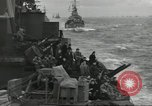 Image of Allied convoy English Channel, 1944, second 11 stock footage video 65675061301