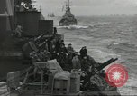 Image of Allied convoy English Channel, 1944, second 12 stock footage video 65675061301