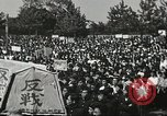 Image of H Bomb protest Tokyo Japan, 1957, second 11 stock footage video 65675061325