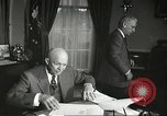 Image of President Dwight Eisenhower Washington DC USA, 1957, second 8 stock footage video 65675061330