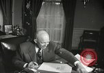 Image of President Dwight Eisenhower Washington DC USA, 1957, second 12 stock footage video 65675061330