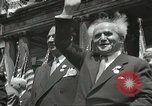Image of David Ben-Gurion New York City USA, 1948, second 8 stock footage video 65675061335