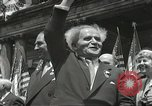 Image of David Ben-Gurion New York City USA, 1948, second 9 stock footage video 65675061335