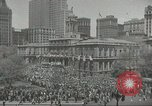 Image of Founding of Israel New York City USA, 1948, second 8 stock footage video 65675061338