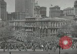 Image of Founding of Israel New York City USA, 1948, second 9 stock footage video 65675061338