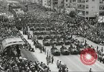 Image of Parade to Celebrate Israeli independence Tel Aviv Israel, 1957, second 5 stock footage video 65675061341
