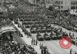 Image of Parade to Celebrate Israeli independence Tel Aviv Israel, 1957, second 6 stock footage video 65675061341