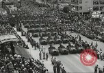 Image of Parade to Celebrate Israeli independence Tel Aviv Israel, 1957, second 7 stock footage video 65675061341