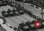 Image of Parade to Celebrate Israeli independence Tel Aviv Israel, 1957, second 8 stock footage video 65675061341