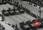 Image of Parade to Celebrate Israeli independence Tel Aviv Israel, 1957, second 9 stock footage video 65675061341