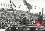 Image of Parade to Celebrate Israeli independence Tel Aviv Israel, 1957, second 12 stock footage video 65675061341