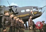 Image of 8th Air Force crew United Kingdom, 1943, second 9 stock footage video 65675061356