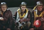 Image of B-17 Flying Fortress crew United Kingdom, 1943, second 9 stock footage video 65675061373