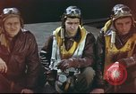 Image of B-17 Flying Fortress crew United Kingdom, 1943, second 10 stock footage video 65675061373