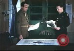 Image of B-17aircrew debriefing after mission United Kingdom, 1943, second 1 stock footage video 65675061378