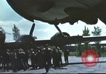 Image of B-17 Flying Fortress bomber crew United Kingdom, 1943, second 4 stock footage video 65675061380