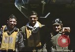 Image of B-17 Flying Fortress bomber crew United Kingdom, 1943, second 11 stock footage video 65675061380