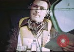 Image of B-17 crewman on interphone United Kingdom, 1943, second 1 stock footage video 65675061388