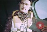 Image of B-17 crewman on interphone United Kingdom, 1943, second 3 stock footage video 65675061388