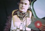 Image of B-17 crewman on interphone United Kingdom, 1943, second 4 stock footage video 65675061388