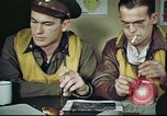 Image of B-17 crew debriefing United Kingdom, 1943, second 10 stock footage video 65675061390