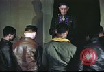 Image of Chaplain with B-17 Aircrew members United Kingdom, 1943, second 6 stock footage video 65675061393
