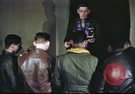 Image of Chaplain with B-17 Aircrew members United Kingdom, 1943, second 7 stock footage video 65675061393
