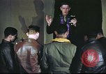 Image of Chaplain with B-17 Aircrew members United Kingdom, 1943, second 8 stock footage video 65675061393