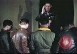 Image of Chaplain with B-17 Aircrew members United Kingdom, 1943, second 10 stock footage video 65675061393