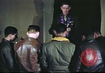 Image of Chaplain with B-17 Aircrew members United Kingdom, 1943, second 11 stock footage video 65675061393