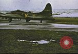 Image of B-17 Flying Fortress bombers United Kingdom, 1943, second 1 stock footage video 65675061396