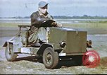 Image of Improvised vehicle at U.S. Air Base in UK United Kingdom, 1943, second 7 stock footage video 65675061398