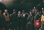 Image of B-17 Flying Fortress bomber crew United Kingdom, 1943, second 2 stock footage video 65675061414