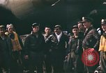 Image of B-17 Flying Fortress bomber crew United Kingdom, 1943, second 3 stock footage video 65675061414