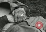 Image of dead American soldier Cassino Italy, 1944, second 3 stock footage video 65675061474