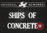 Image of concrete ship Georgia United States USA, 1944, second 3 stock footage video 65675061495