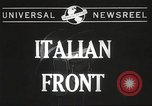 Image of United States soldiers Italy, 1944, second 3 stock footage video 65675061496
