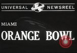 Image of college football game Miami Florida USA, 1944, second 8 stock footage video 65675061498