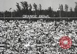 Image of college football game Miami Florida USA, 1944, second 9 stock footage video 65675061498