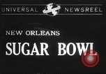 Image of college football game New Orleans Louisiana USA, 1944, second 1 stock footage video 65675061499