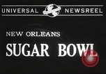 Image of college football game New Orleans Louisiana USA, 1944, second 2 stock footage video 65675061499