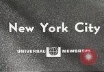 Image of paper airplanes New York City USA, 1967, second 1 stock footage video 65675061510