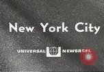 Image of paper airplanes New York City USA, 1967, second 3 stock footage video 65675061510