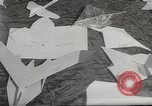 Image of paper airplanes New York City USA, 1967, second 12 stock footage video 65675061510