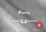 Image of fashion show Paris France, 1967, second 2 stock footage video 65675061511