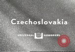 Image of motorcycle race Vimperk Czechoslovakia, 1967, second 1 stock footage video 65675061513