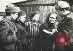 Image of prisoners Poland, 1945, second 2 stock footage video 65675061517