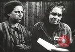 Image of prisoners Poland, 1945, second 9 stock footage video 65675061517