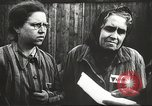 Image of prisoners Poland, 1945, second 10 stock footage video 65675061517