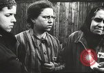 Image of prisoners Poland, 1945, second 12 stock footage video 65675061517
